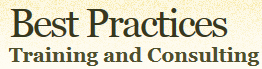 Best Practices, Training and Consulting